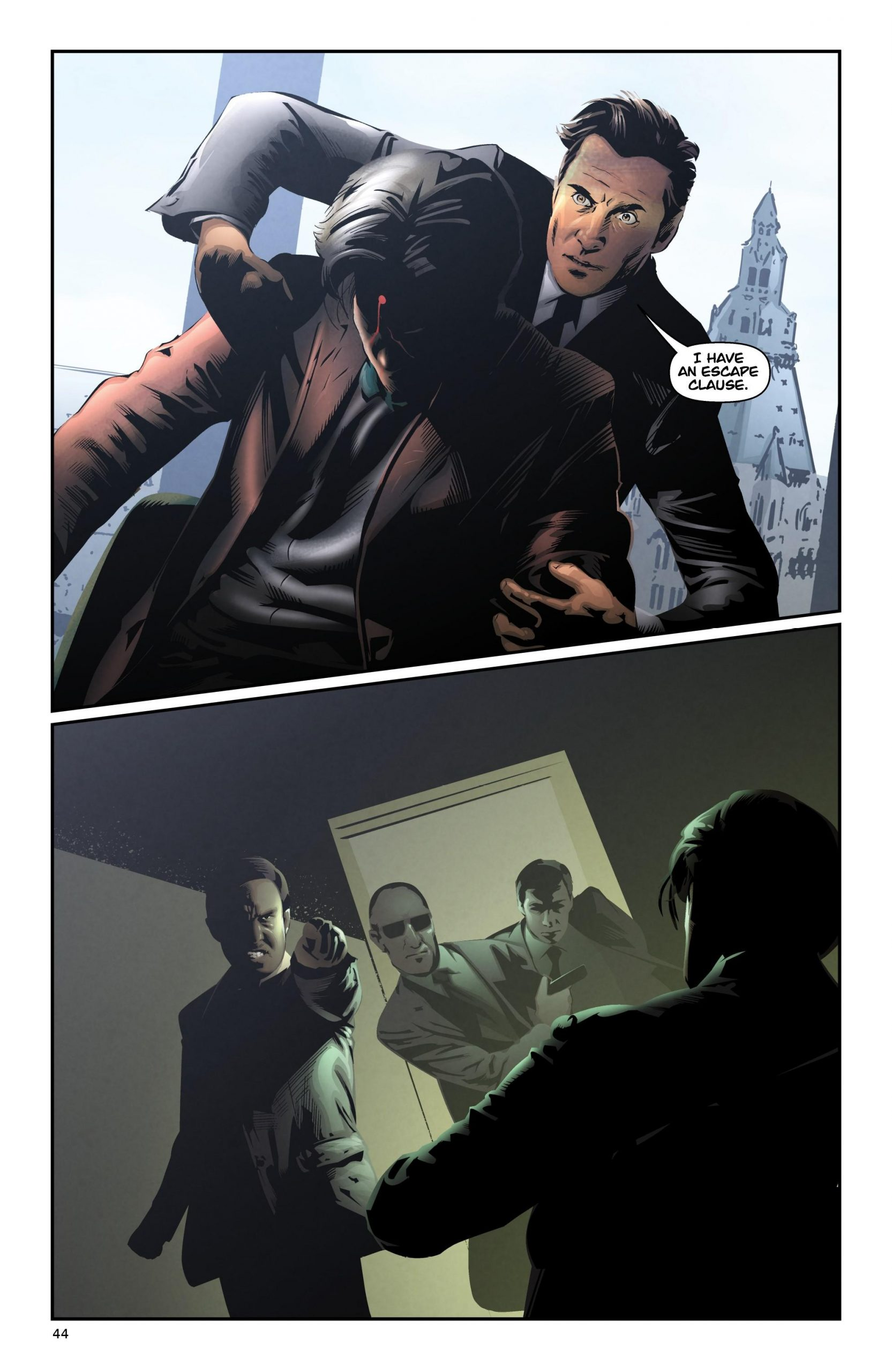 The Suit graphic novel review