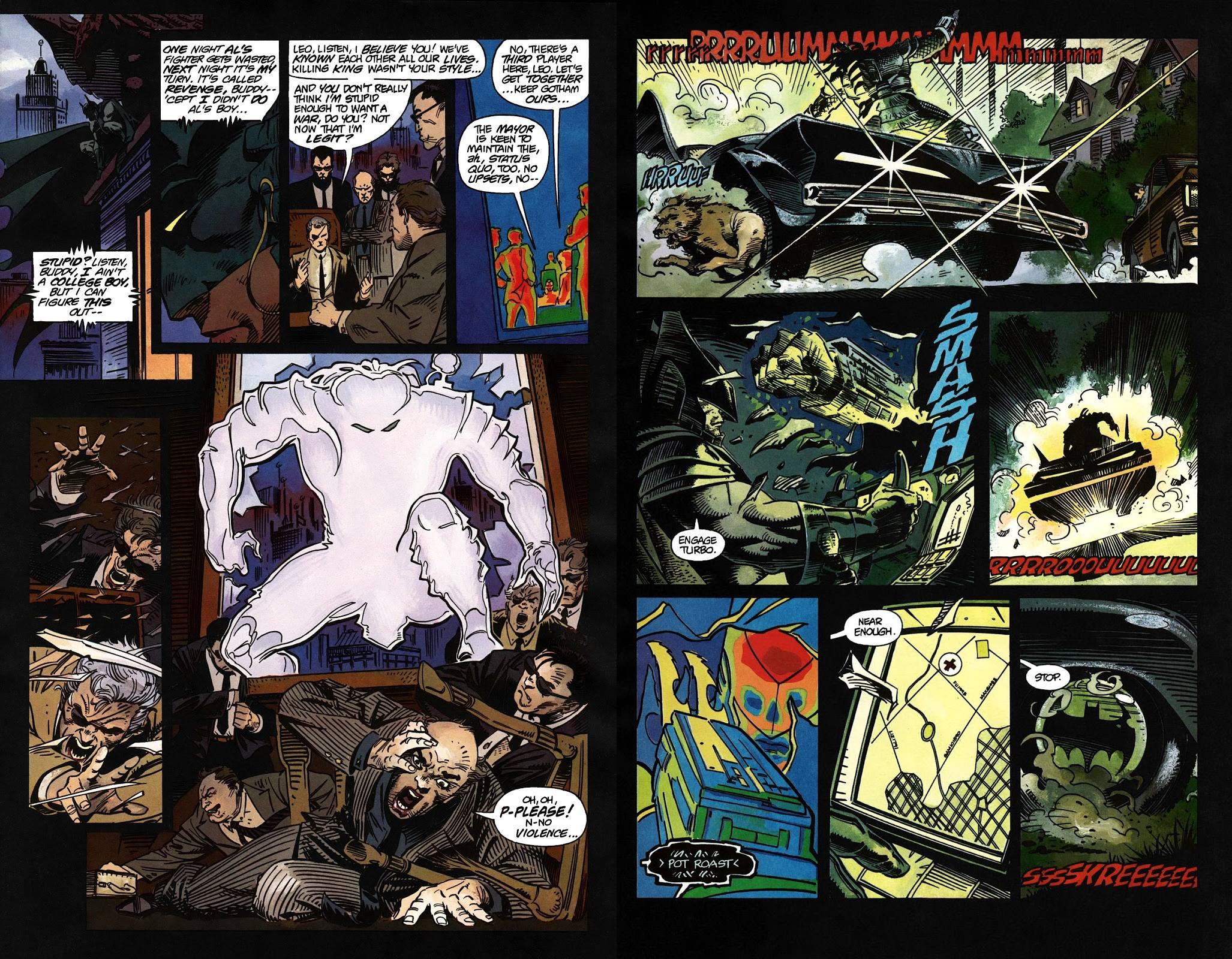 Batman versus Predator review
