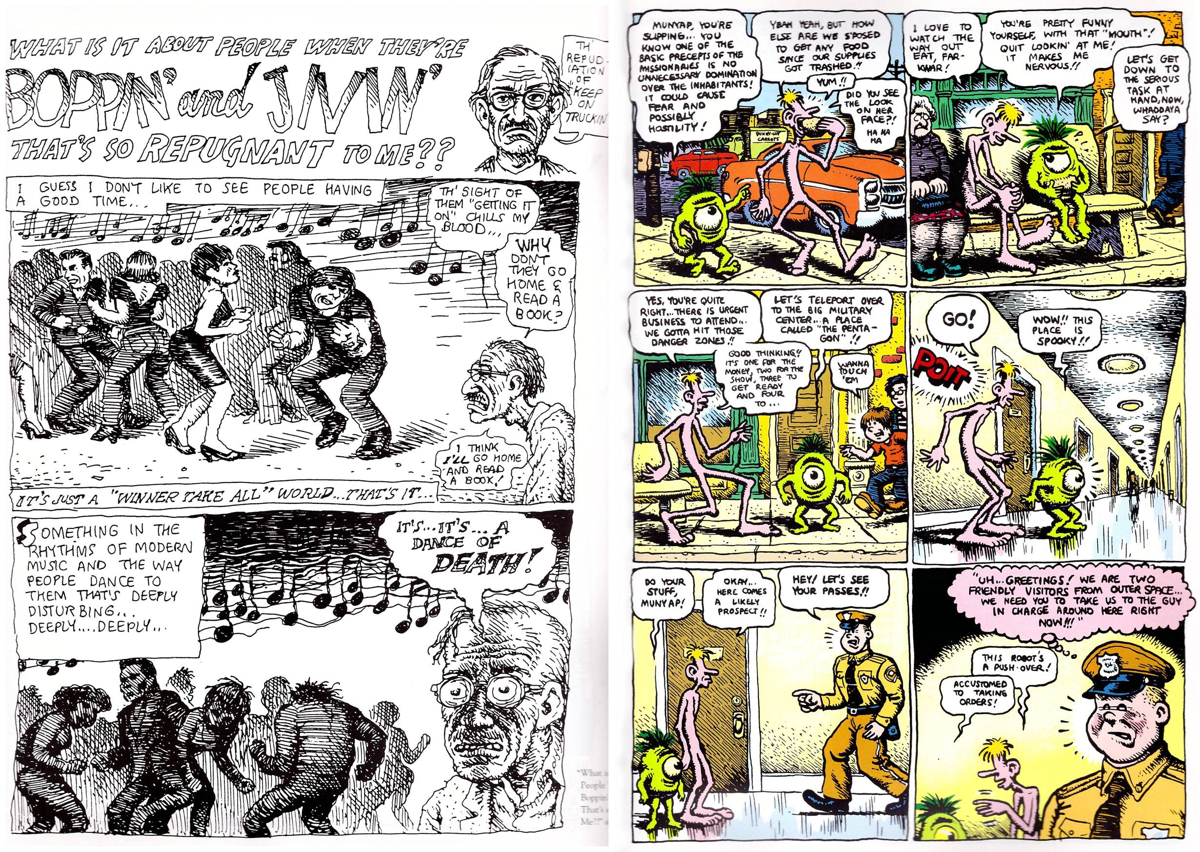 The R. Crumb Coffee Table Art Book review
