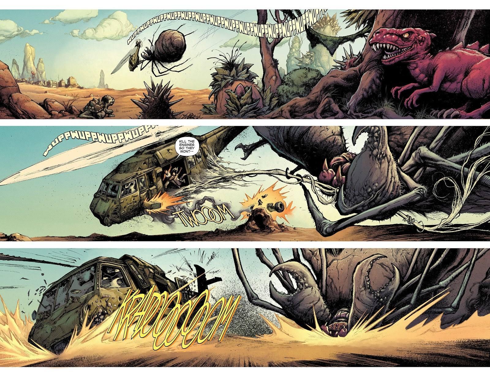 Devolution graphic novel review
