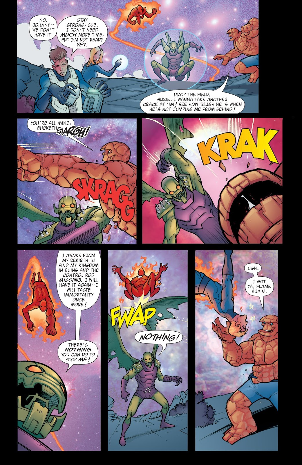 Fantastic Four Foes review