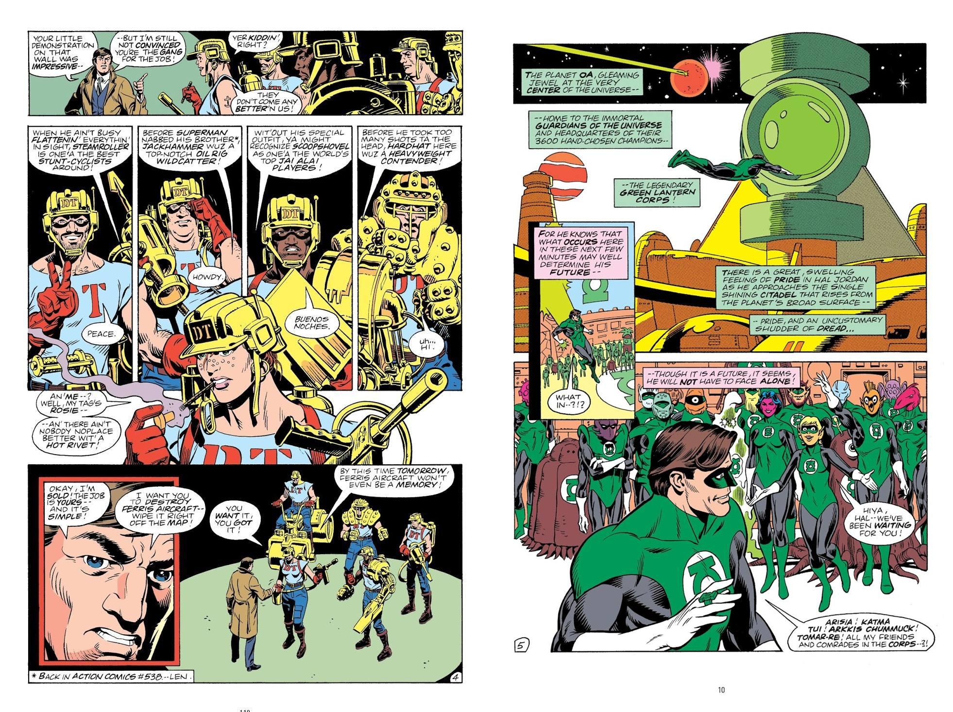 Green Lantern Sector 2814 V1 review