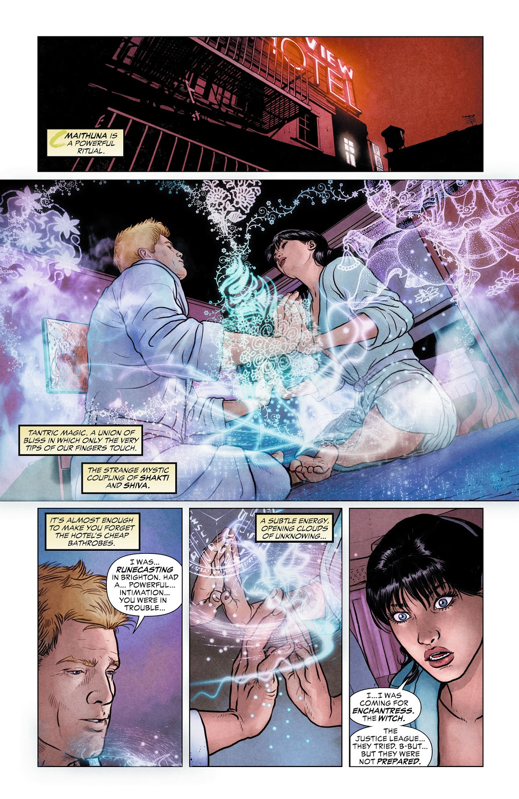 Justice League Dark V1 In the Dark review