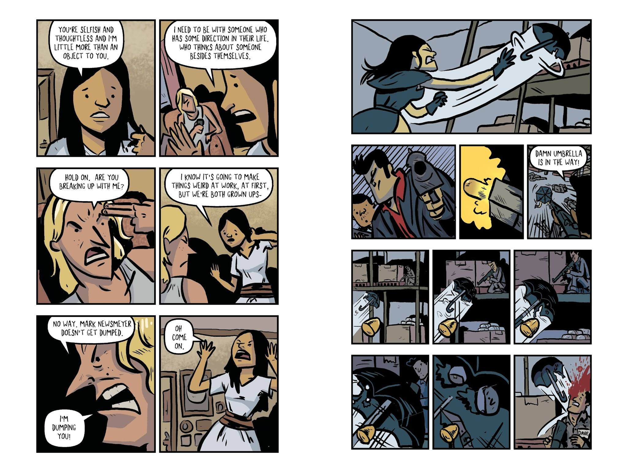 Kill Them All graphic novel review