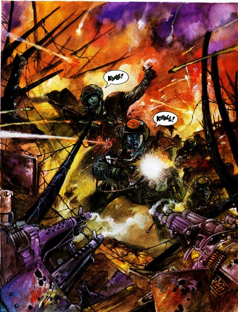 Rogue Trooper The War Machine Review