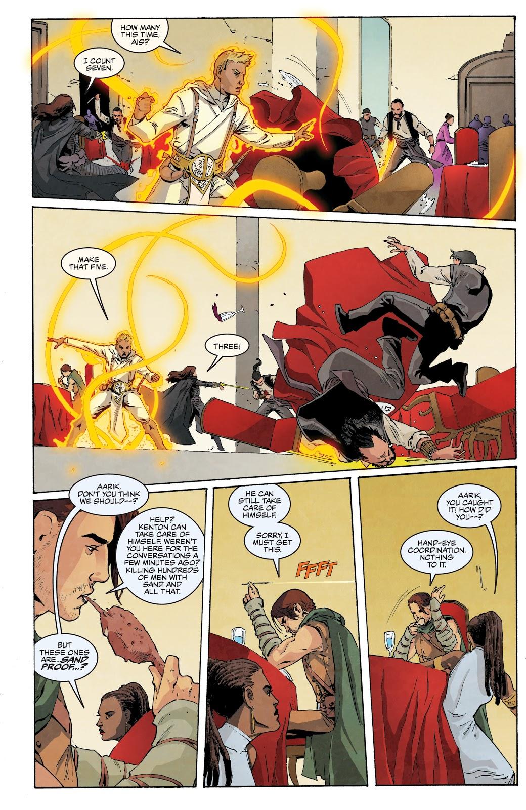 White Sand graphic novel review