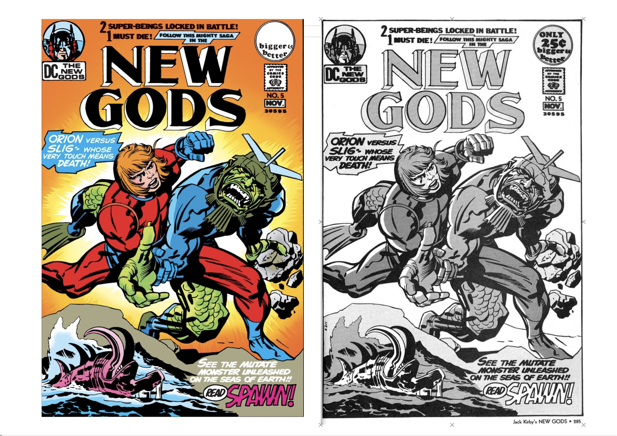 New Gods review