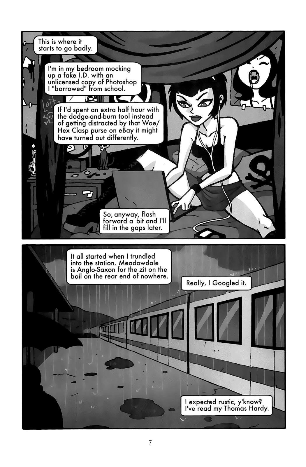 Clubbing graphic novel review