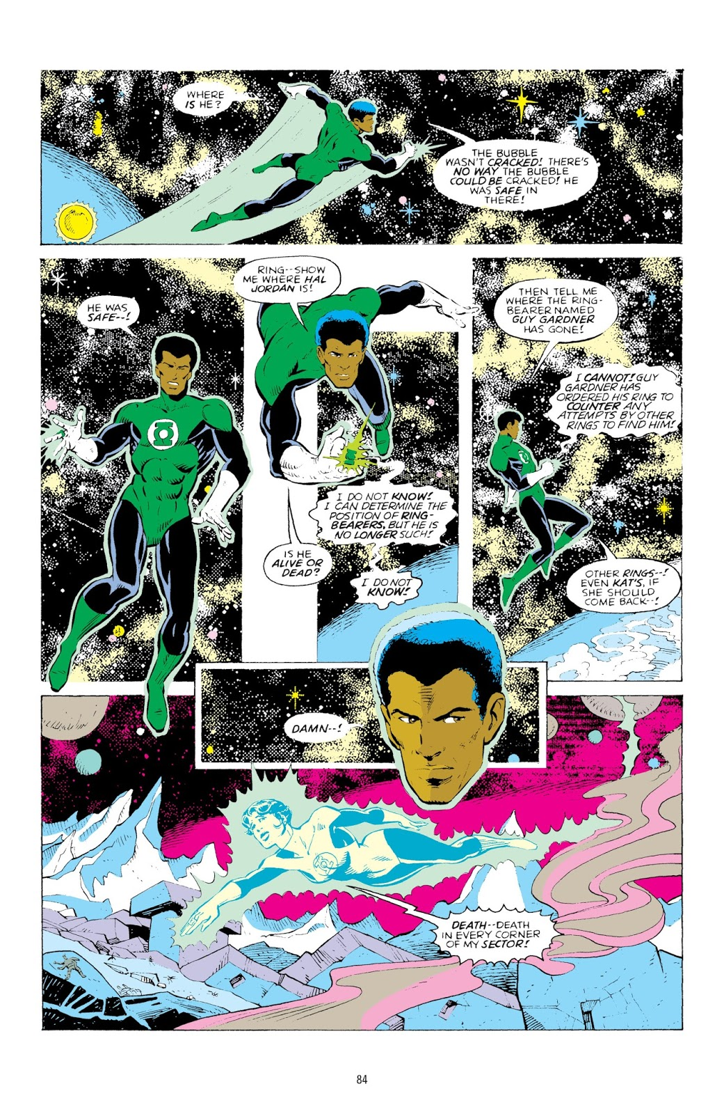 Green Lantern Sector 2814 Vol 3 review