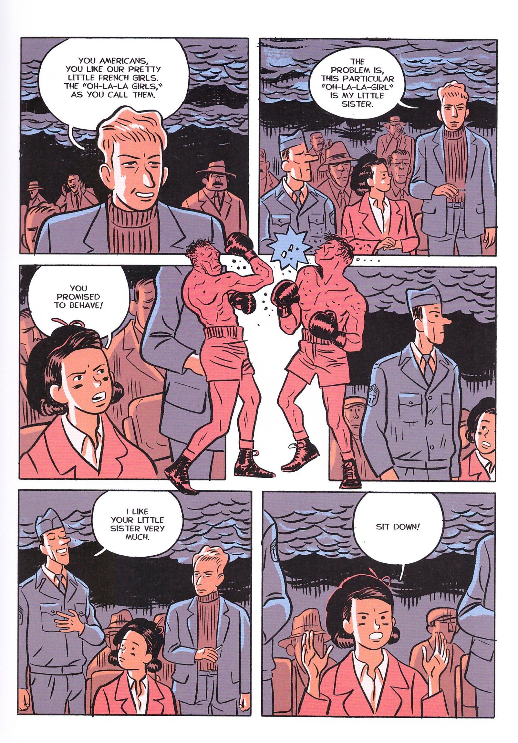 Michigan graphic novel review