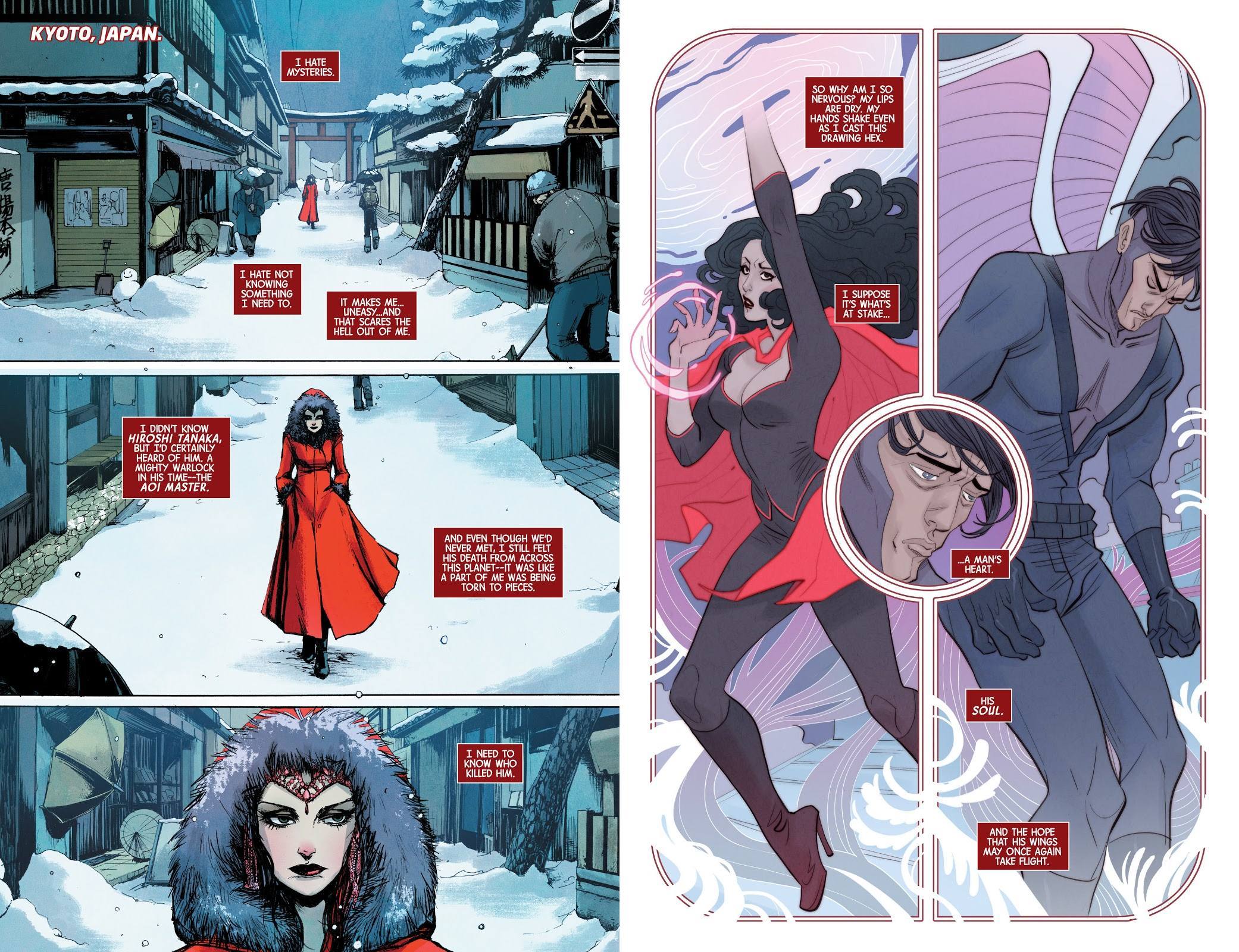 Scarlet Witch World of Witchcraft review