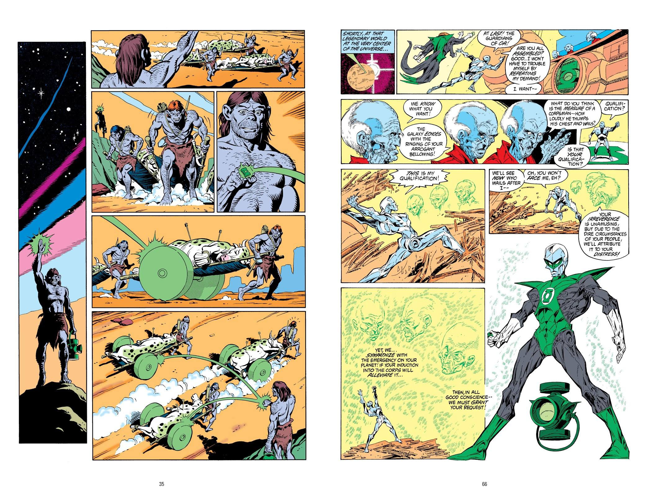 Tales of the Green Lantern Corps V2 review