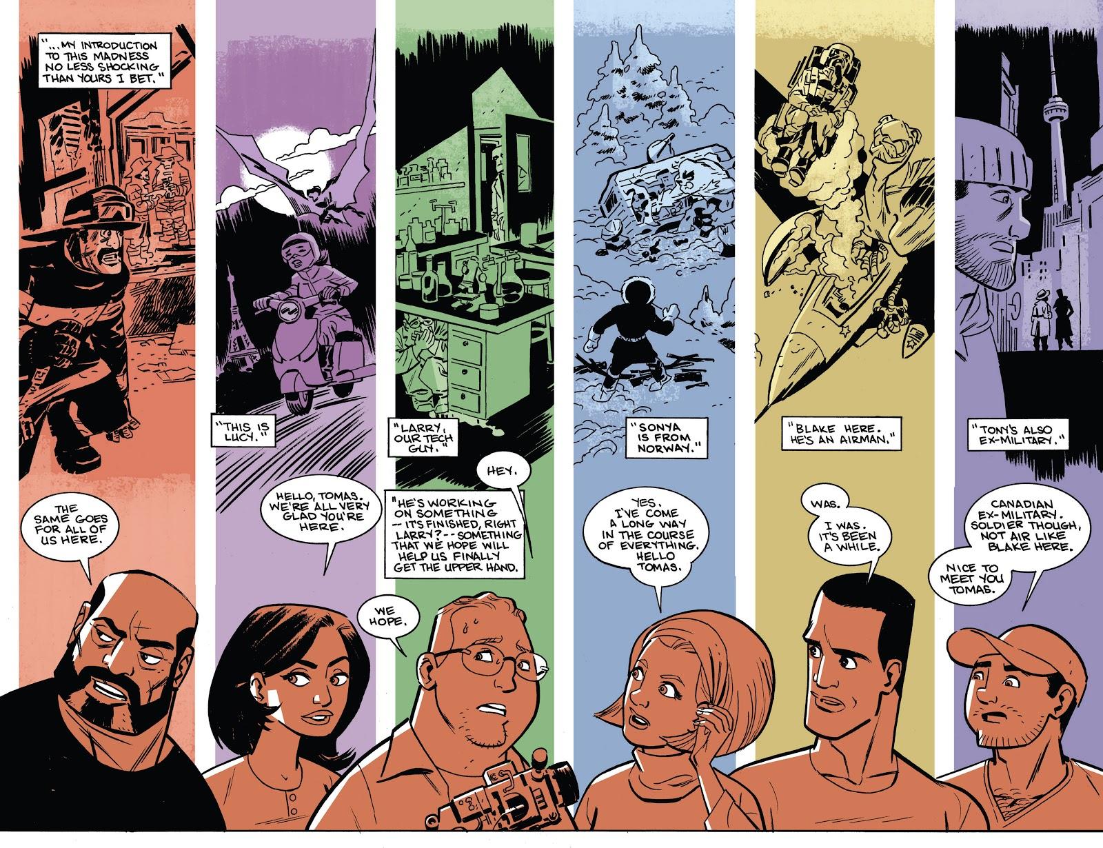The Saviors graphic novel review