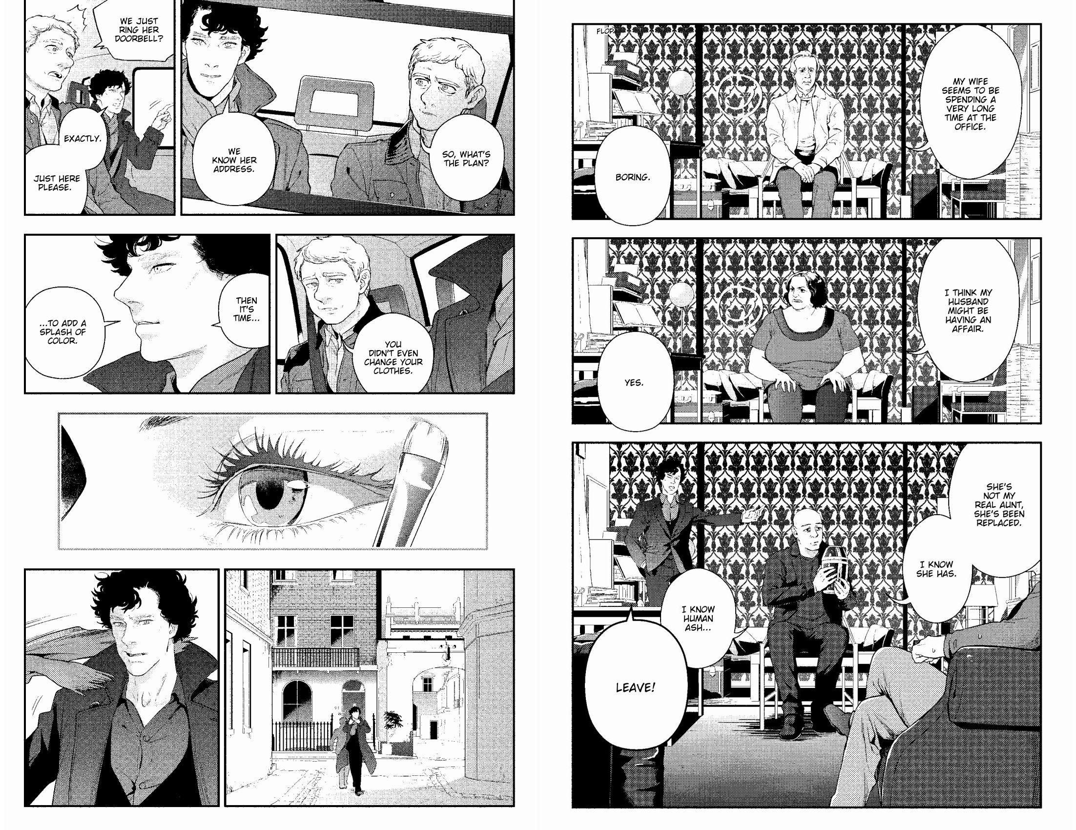 Sherlock A Scandal In Belgravia Vol1 review