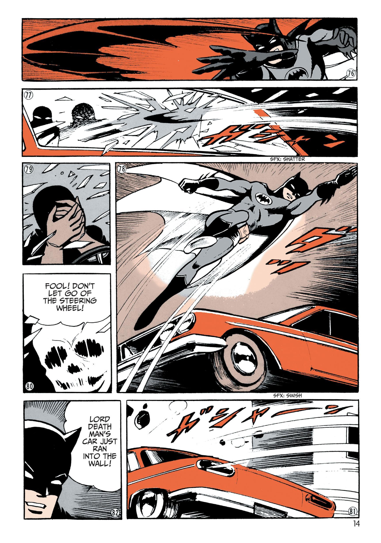 Batman - The Jiro Kuwata Batmanga V1 review