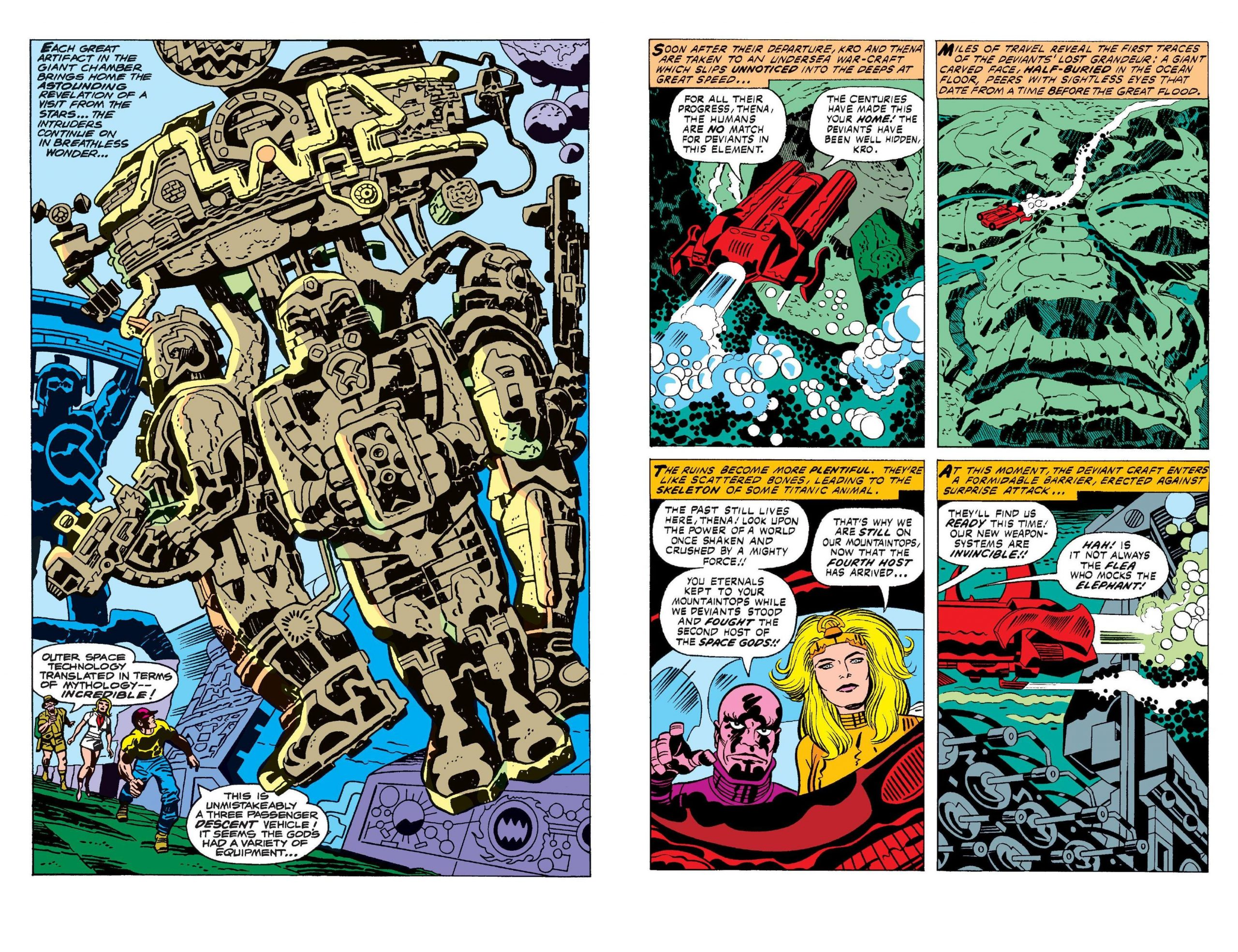 The Eternals by Jack Kirby V1 review