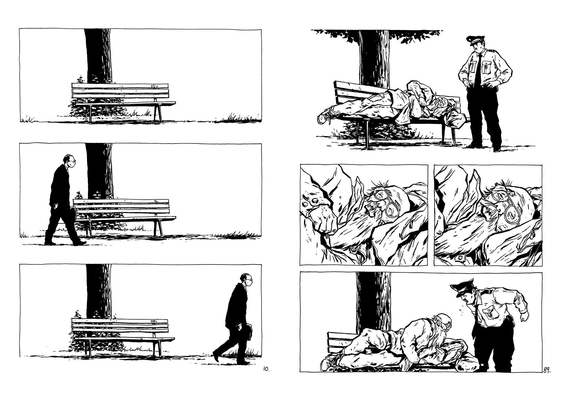 The Park Bench graphic novel review