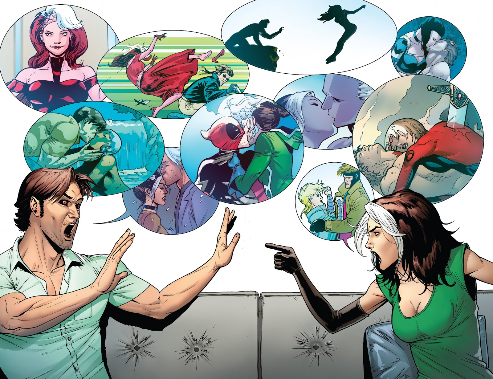 Rogue & Gambit Ring of Fire review