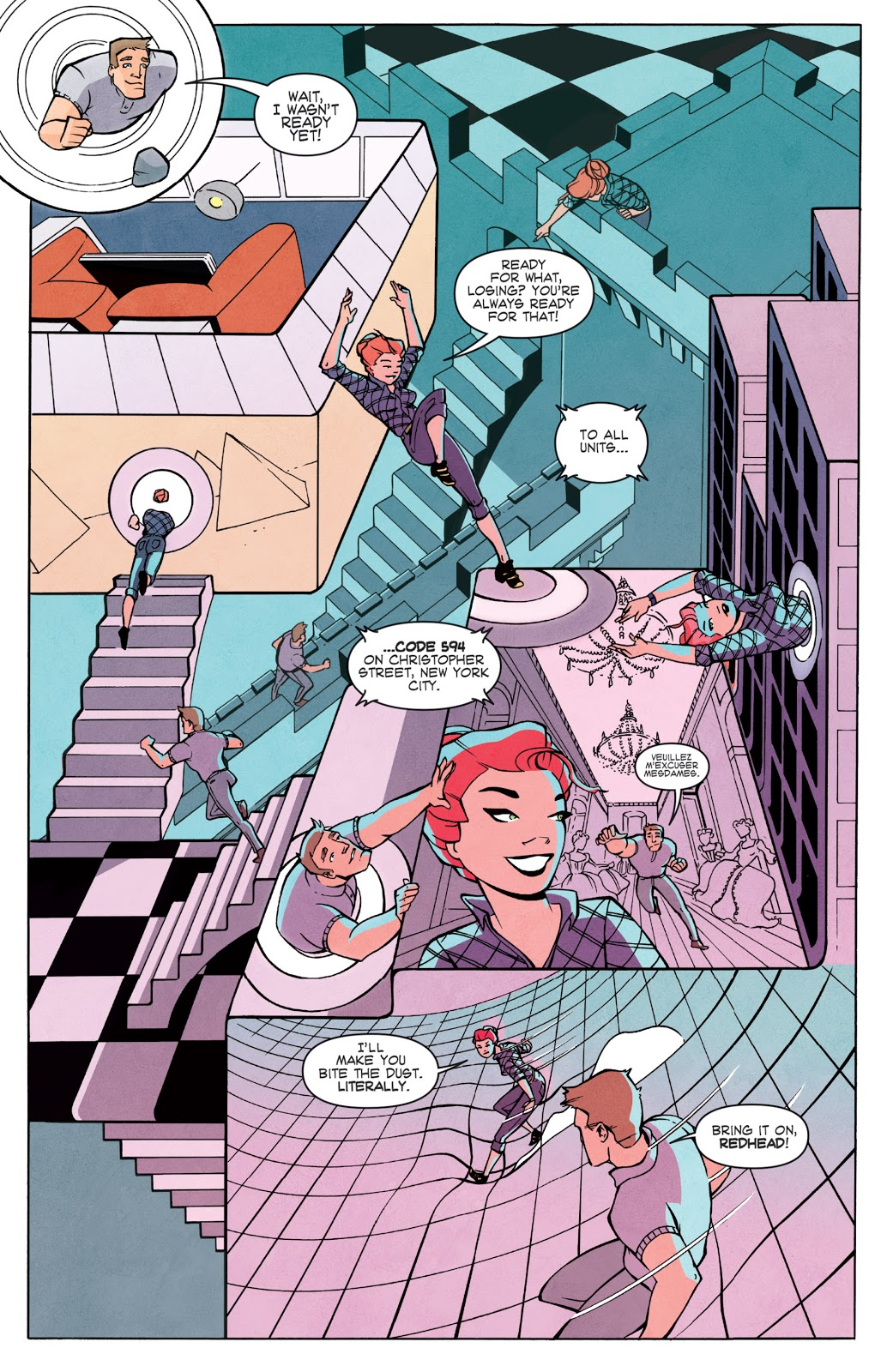 The Infinite Loop graphic novel review