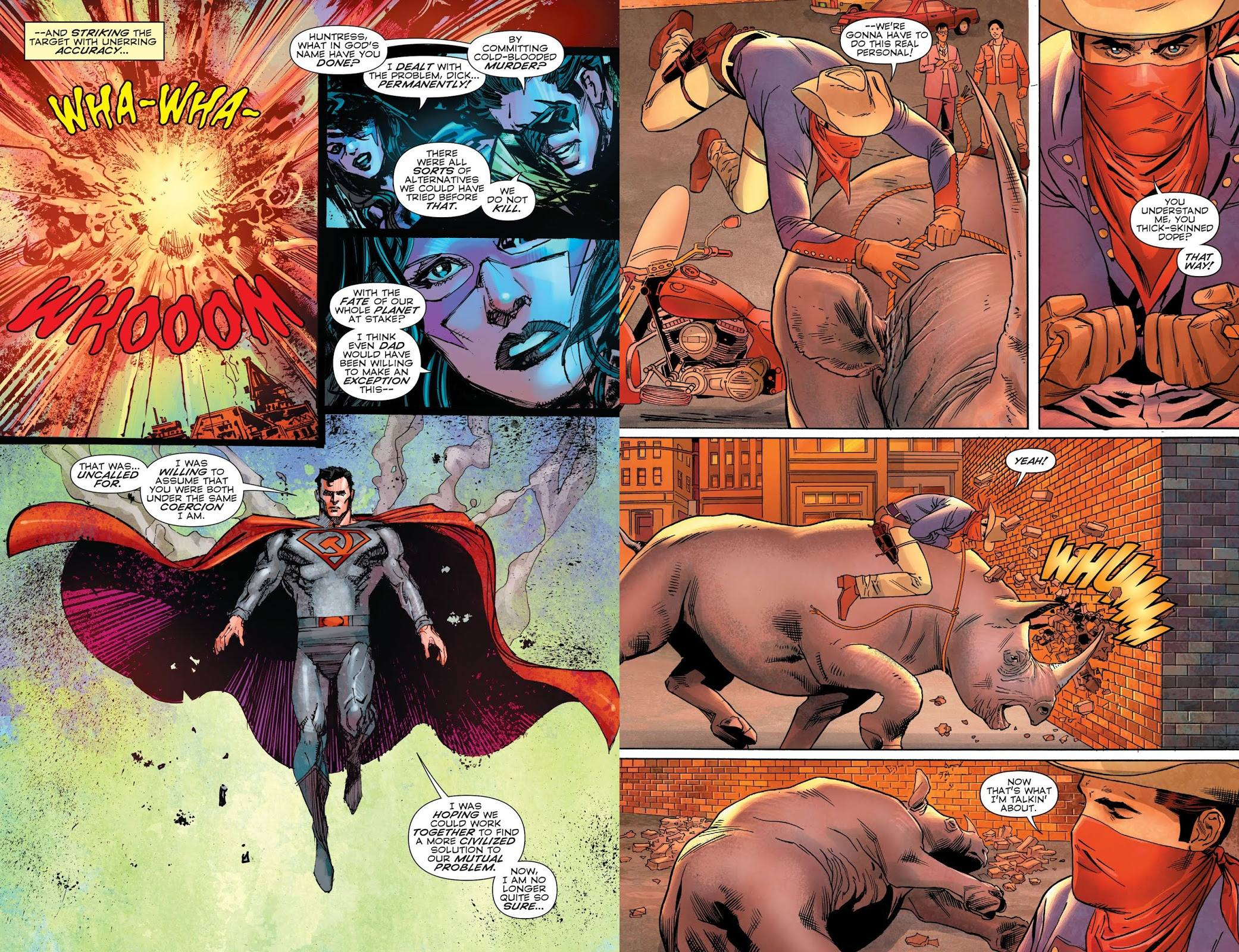 Convergence Infinite Earths review