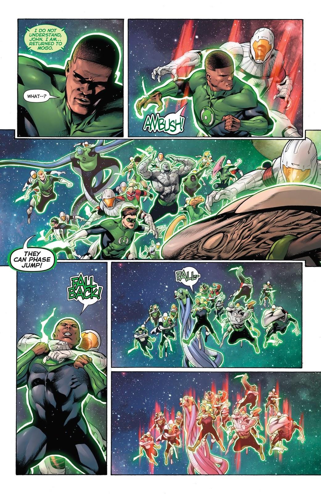Hal Jordan and the Green Lantern Corps V7 Darkstars Rising review