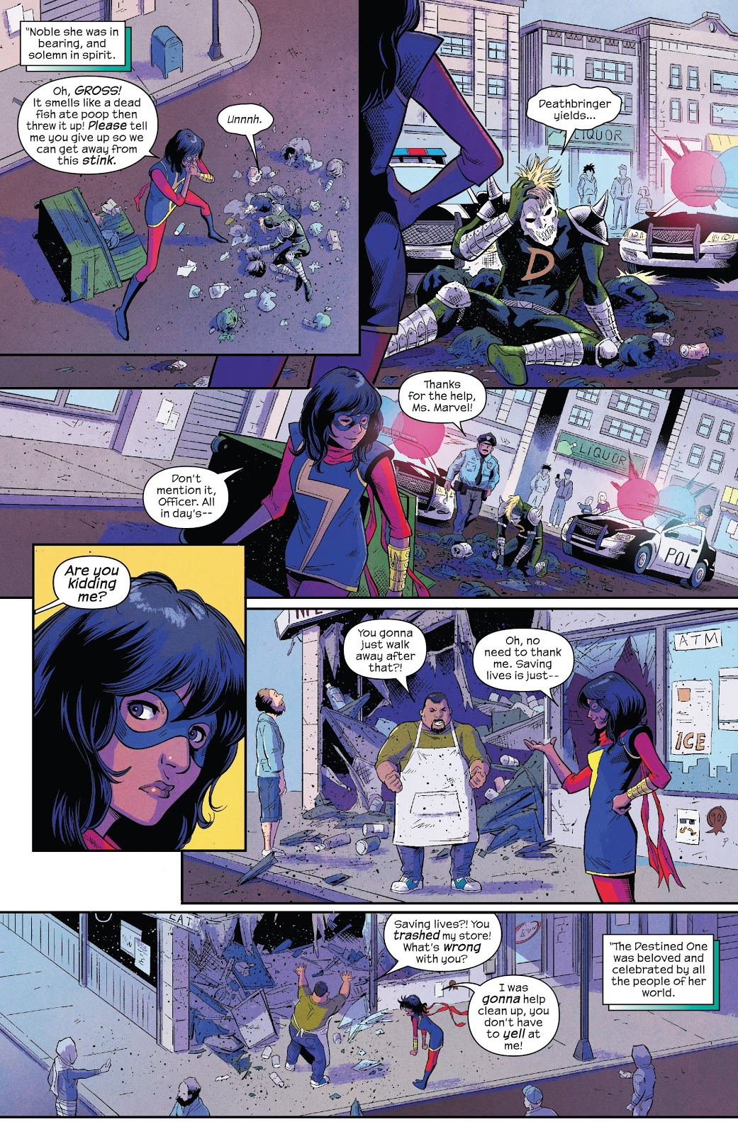 Ms Marvel Destined review