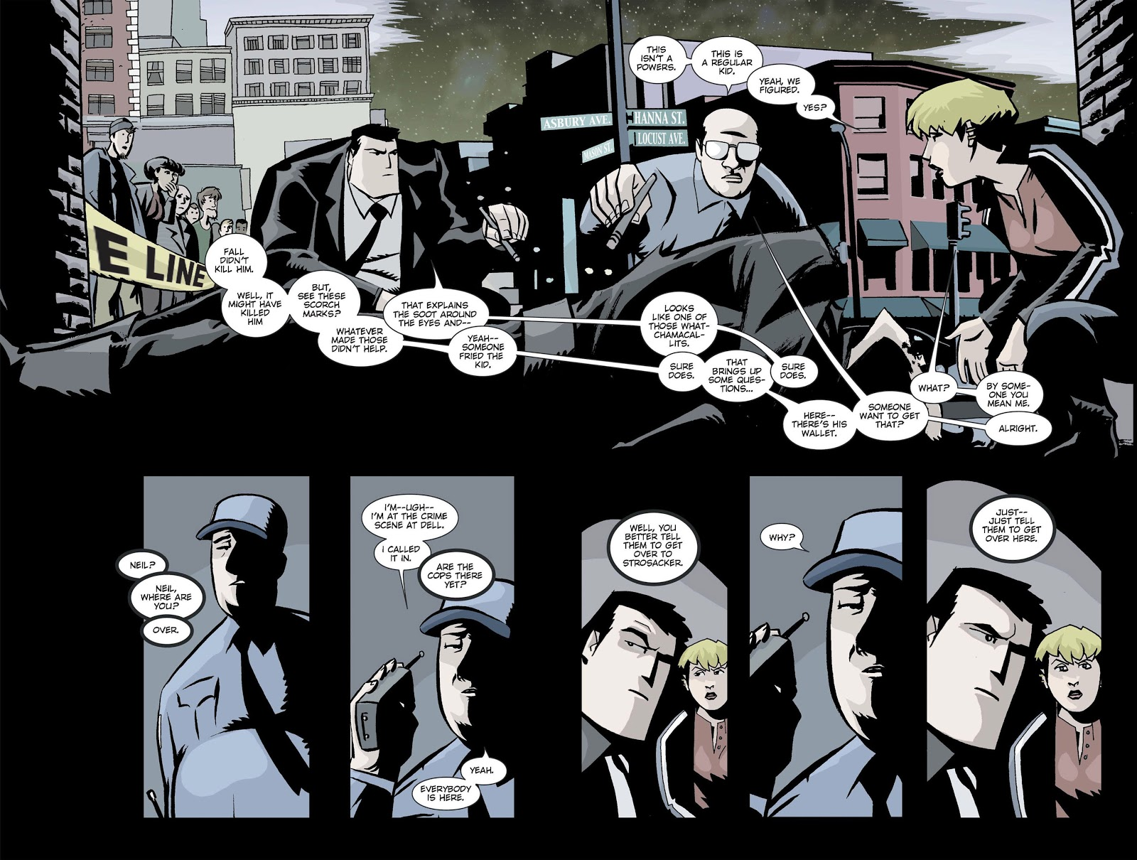 Powers Definitive Hardcover Vol 1 review
