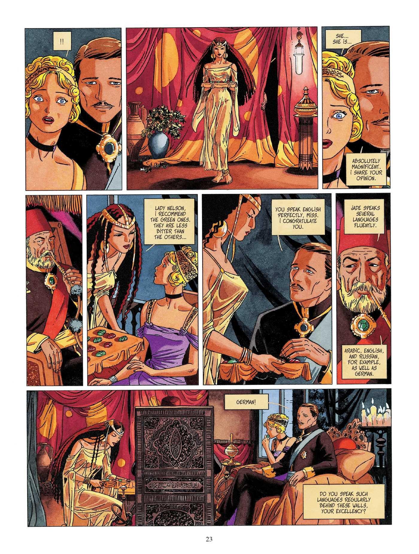 Djinn Vol 1 graphic novel review