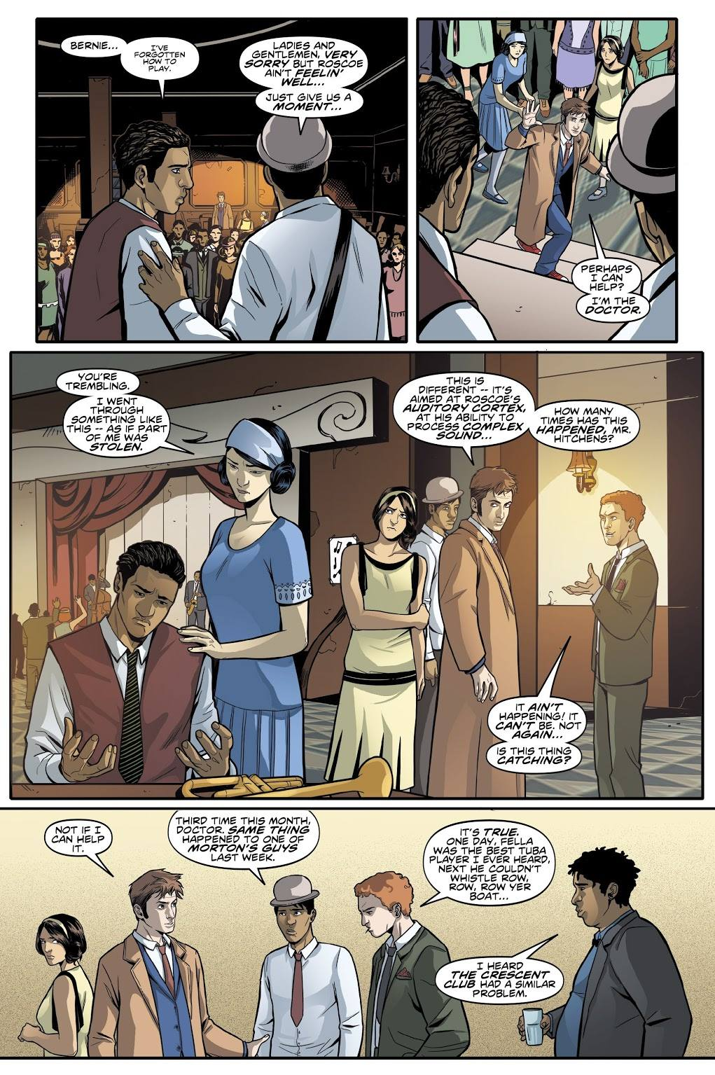 Doctor Who The Tenth Doctor Vol 6 Sins of the Father review