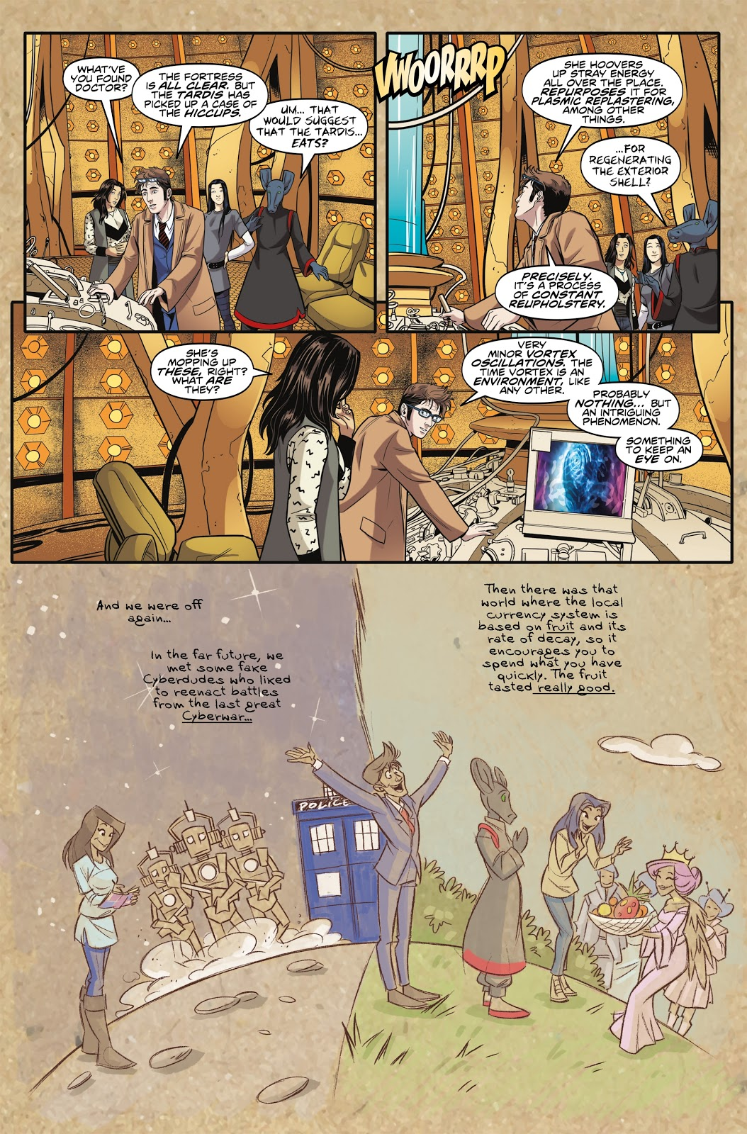 Doctor Who The Tenth Doctor Vol 9 Vortex Butterflies review