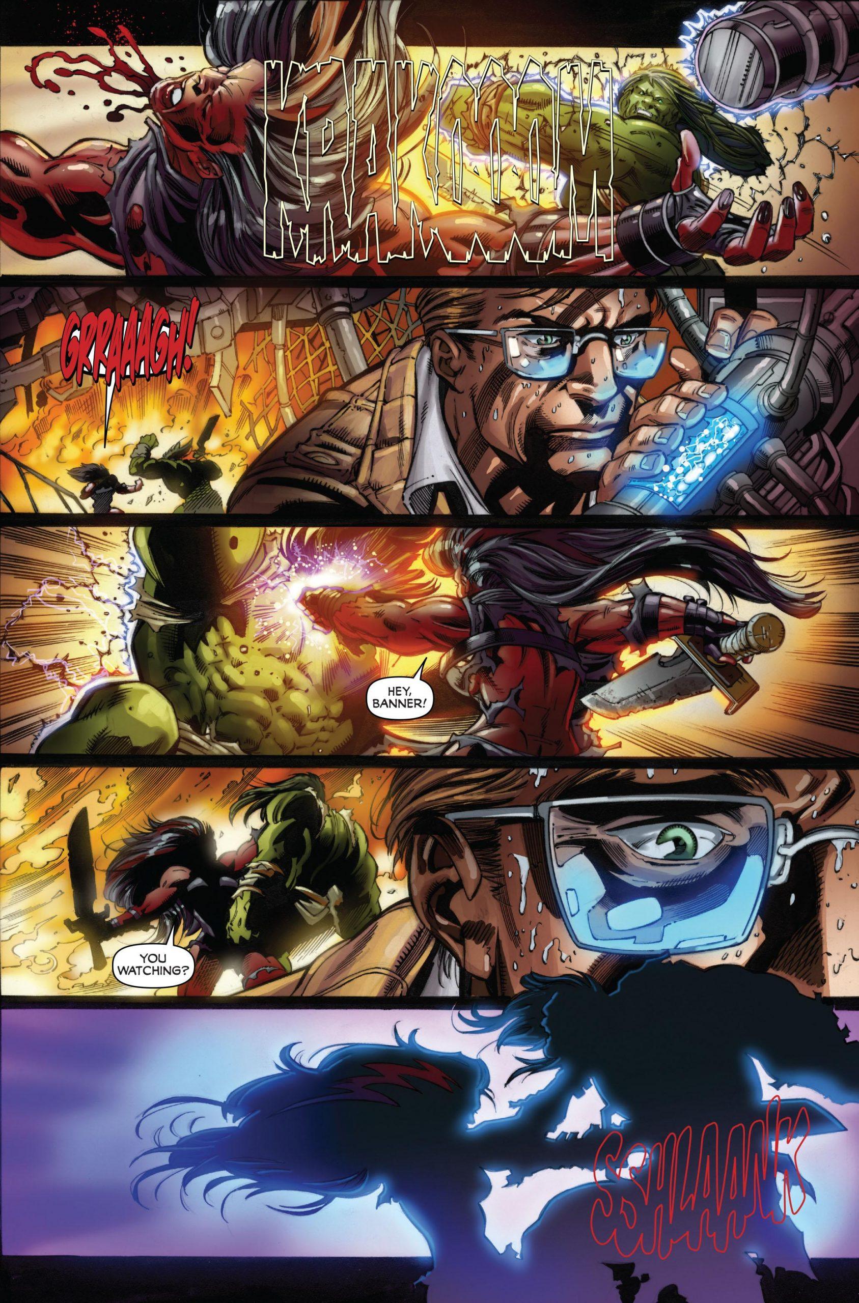 Incredible Hulk - Fall of the Hulks review