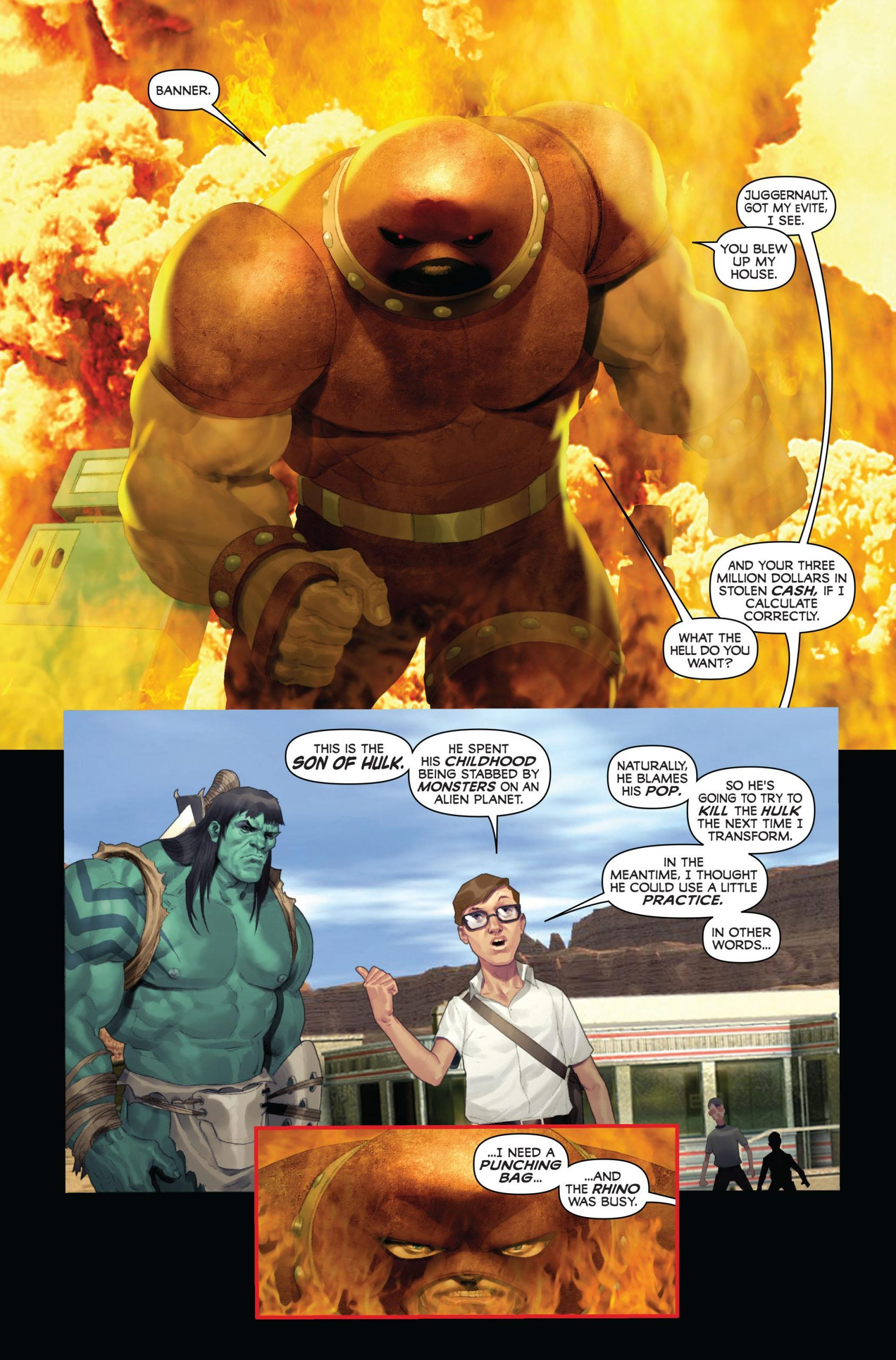 Incredible Hulk - Son of Banner review