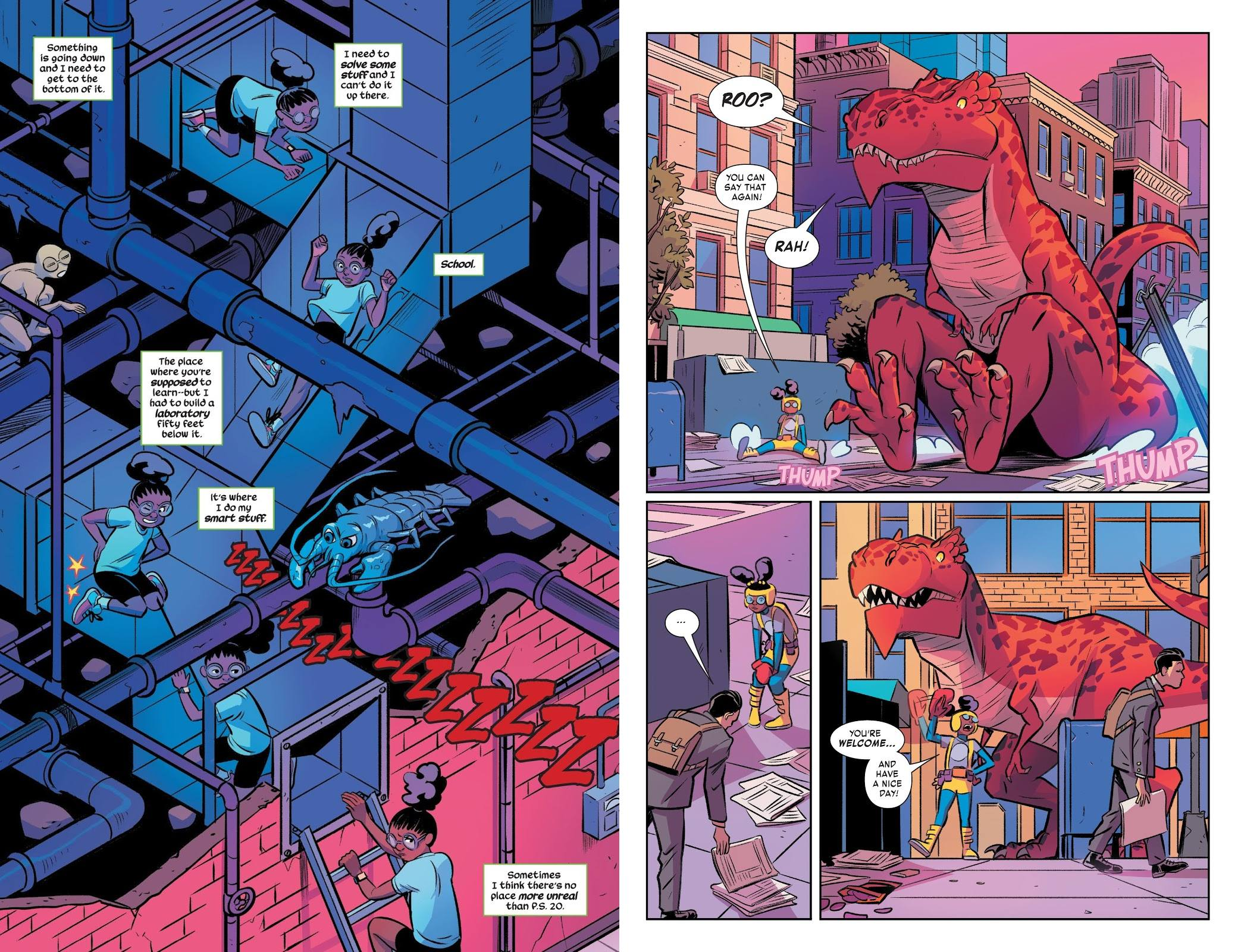 Moon Girl and Devil Dinosaur Bad Dream review