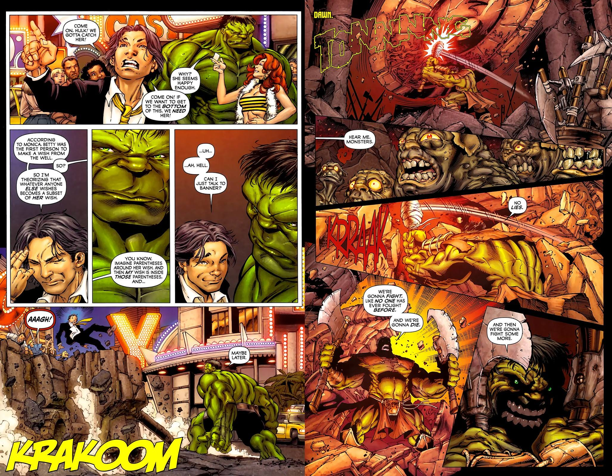 Incredible Hulks Heart of the Monster review