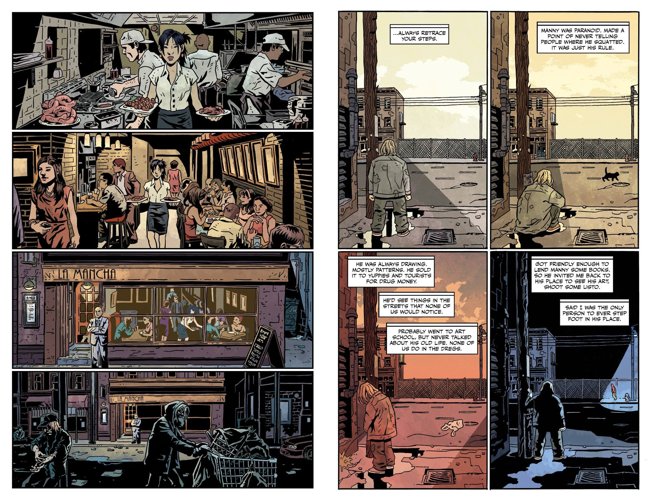 The Dregs graphic novel review