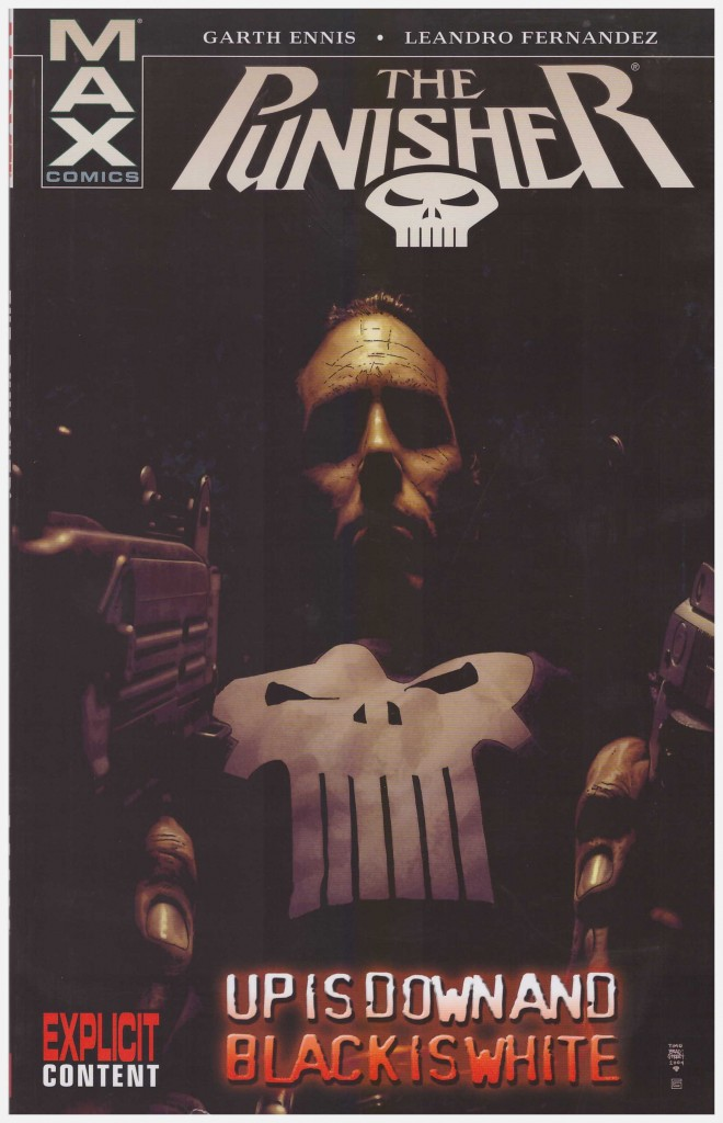 The Punisher: Up is Down and Black is White