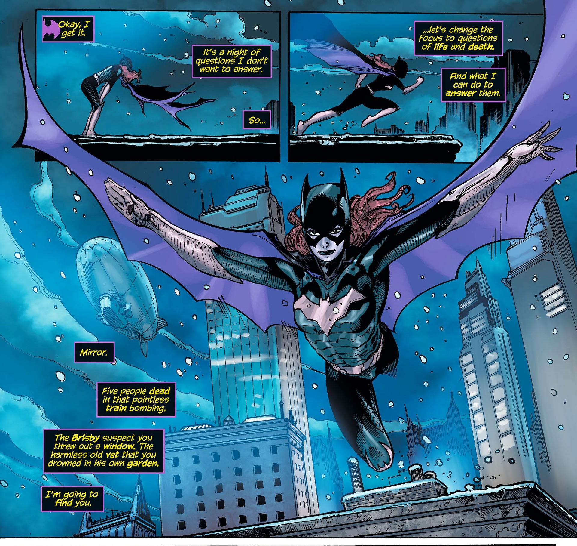 Batgirl the Darkest Reflection review