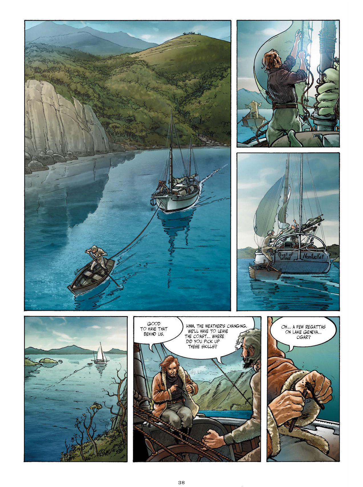 Cape Horn graphic novel review