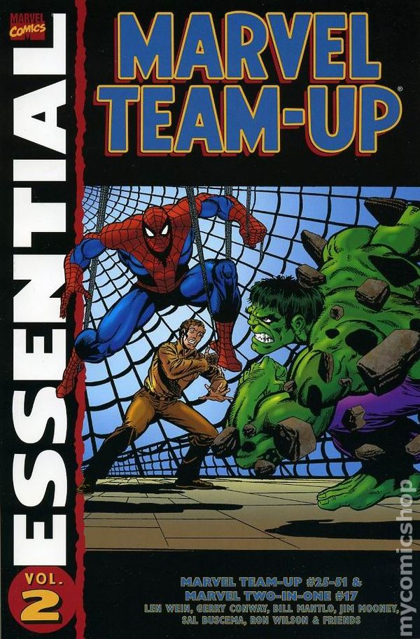 Essential Marvel Team-Up Volume 2