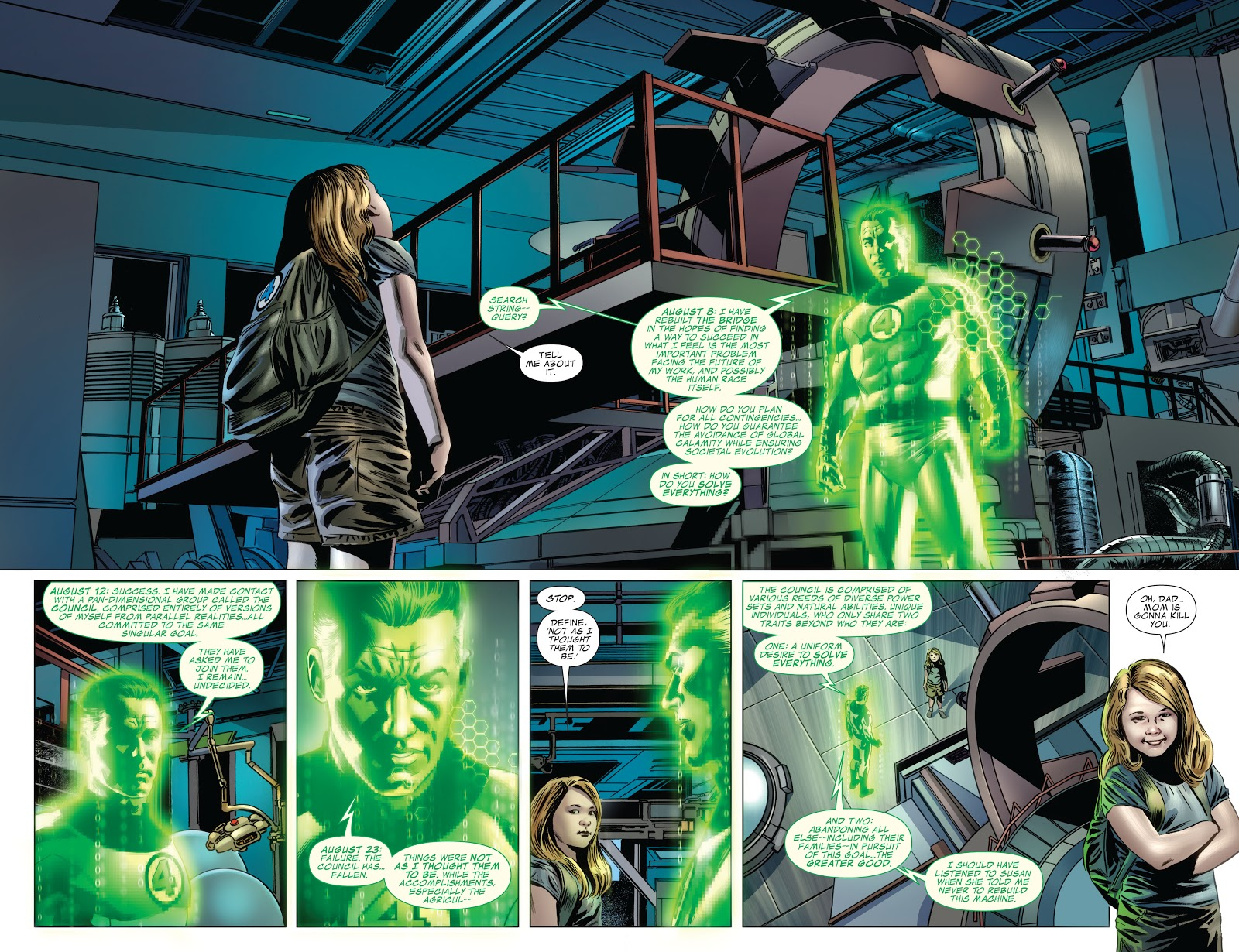 Fantastic Four by Jonathan Hickman Vol 4 review
