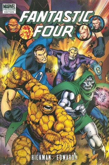 Fantastic Four by Jonathan Hickman Volume 3