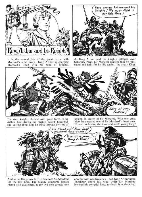Frank Bellamy's King Arthur review
