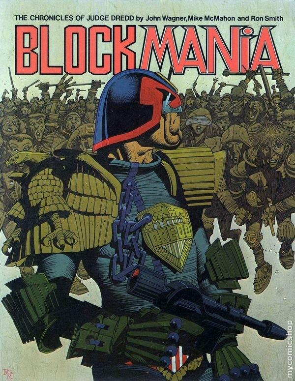 Judge Dredd: Block Mania