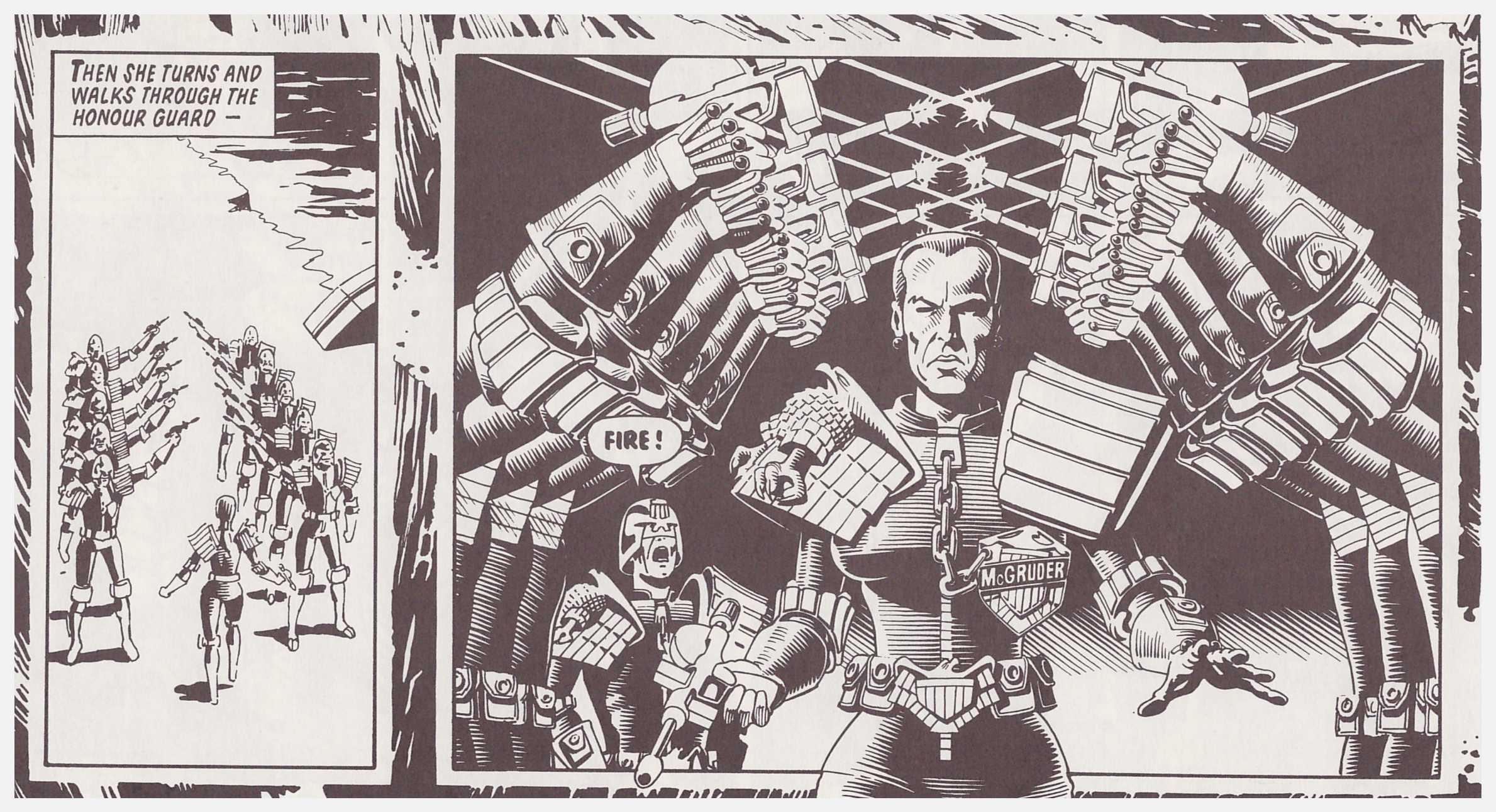 Judge Dredd 18 Titan review
