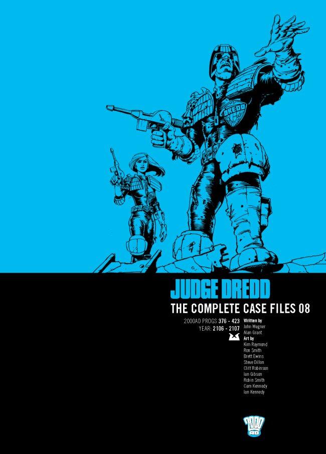 Judge Dredd: The Complete Case Files 08