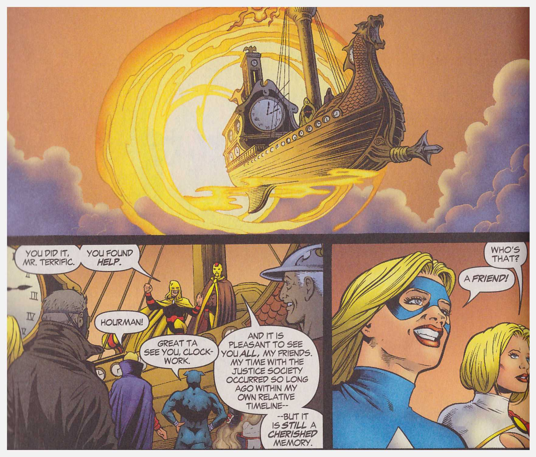 JSA Lost review