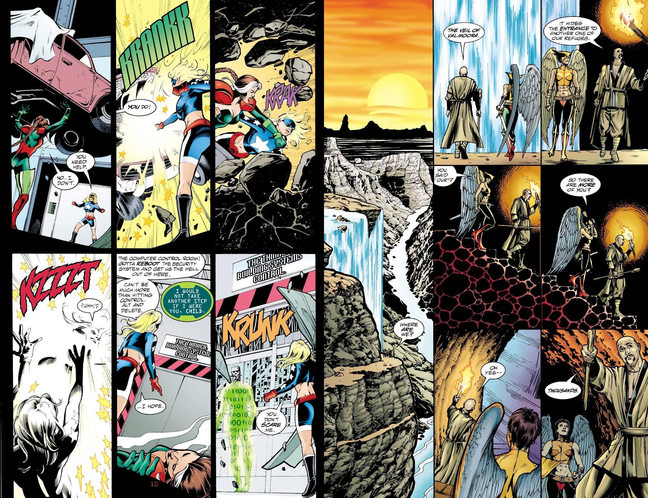JSA The Return of Hawkman review
