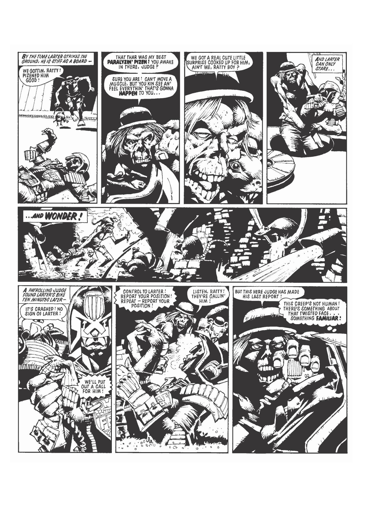 Judge Dredd 3 graphic novel review