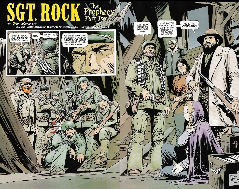 Sgt Rock The Prophecy review
