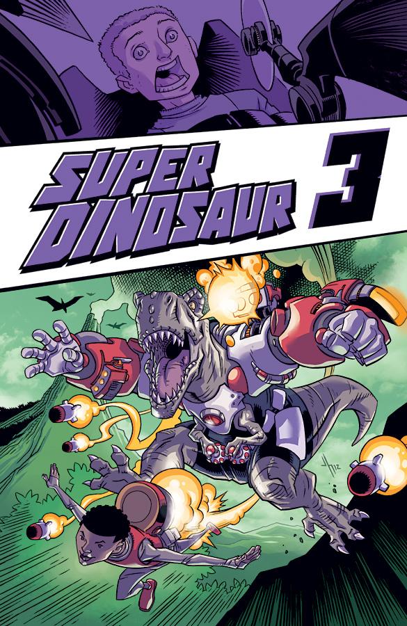 Super Dinosaur Volume 3